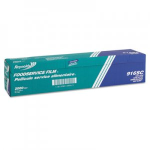 "Reynolds Wrap PVC Film Roll with Cutter Box, 24"" x 2000 ft, Clear RFP916 000000000000000916"