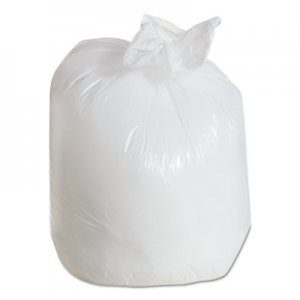 FlexSol Linear Low-Density Can Liner, 33 x 39, 33-Gallon, .80 Mil, White, 150/Case ESXST39 ST39