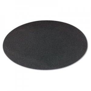 "Boardwalk Sanding Screens, 20"" Diameter, 80 Grit, Black, 10/Carton BWK50208010"