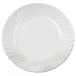 WNA Classicware Plates, Plastic, 9 in, Clear, 18/Bag, 10 Bag/Carton WNACW9180 WNA CW9180