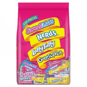Nestle Assorted Candy, Individually Wrapped, 3 lb Bag, 6 Bags/Carton NES96445CT 96445