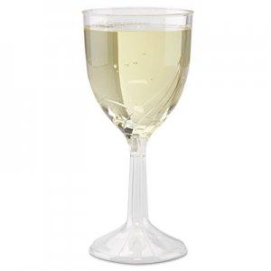 WNA Classicware One-Piece Wine Glasses, 6 oz., Clear, 10/Pack WNACWSWN6 WNA CWSWN6