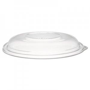 """Dart PresentaBowls Clear Dome Lids, Plastic, 7 3/10"""" dia, 252 Lids/Carton DCCC64BDL C64BDL"""