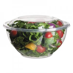 Eco-Products Renewable and Compostable Salad Bowls with Lids - 32 oz, 50/Pack, 3 Packs/Carton ECOEPSB32 EP-SB32
