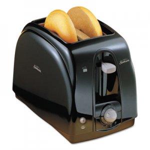 Sunbeam Extra Wide Slot Toaster, 2-Slice, 7 x 11 1/2 x 7.8, Black SUN39101 3910100000