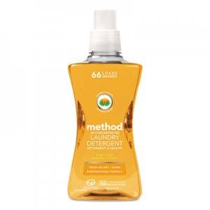 Method 4X Concentrated Laundry Detergent, Ginger Mango, 53.5 oz Bottle MTH01490EA 01490EA