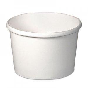 Dart Flexstyle Double Poly Paper Containers, 8 oz, White, 25/Pack, 20 Packs/Carton SCCH4085U SCC H4085U