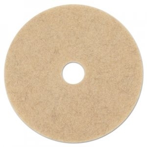 "Boardwalk Natural Hog Hair Burnishing Floor Pads, 21"" Diameter, 5/Carton BWK4021NHE"
