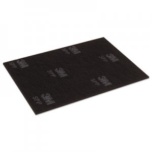 "Scotch-Brite Surface Preparation Pad Sheets, 14"" x 28"", Maroon, 10/Carton MMM02498 SPP14X28"