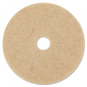 "Boardwalk Natural Hog Hair Burnishing Floor Pads, 17"" Diameter, 5/Carton BWK4017NHE"