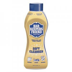 Bar Keepers Friend Soft Cleanser, 26 oz Squeeze Bottle, Citrus, 6/Carton BKF11624 BKF 11624