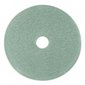 "3M Ultra High-Speed Floor Burnishing Pads 3100, 24"" Diameter, Aqua, 5/Carton MMM17438 3100"