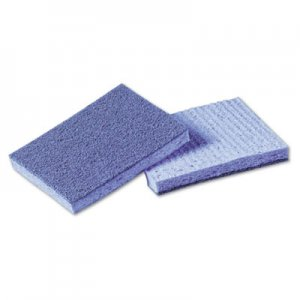 Scotch-Brite PROFESSIONAL Soft Scour Scrub Sponge, 3 1/2 x 5 in, Blue, 10/Pack, 4 Packs/Carton MMM9489