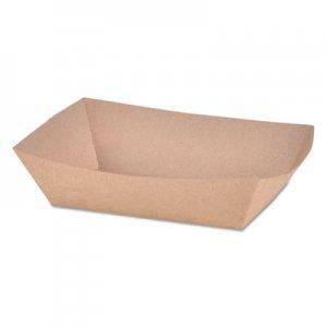 SCT Paper Food Baskets, Brown Kraft, 2 lb Capacity, 1000/Carton SCH0517 SCH 0517