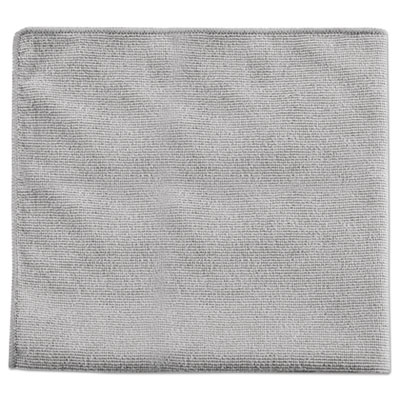 Rubbermaid Commercial Executive Multi-Purpose Microfiber Cloths, Gray, 16 x 16, 24/Pack RCP1863889 1863889