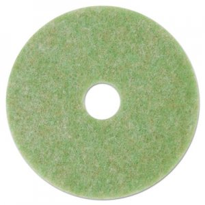 "3M Low-Speed TopLine Autoscrubber Floor Pads 5000, 17"" Diameter, Green/nge, 5/CT MMM18049 5000"