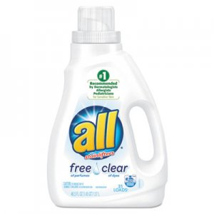 All Free Clear HE Liquid Laundry Detergent, 50 oz Bottle DIA46155 46155