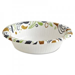 Boardwalk Deerfield Printed Paper Bowl, 12 oz, 125 Bowls/Pack, 8 Packs/Carton BWKDEER12BOWL