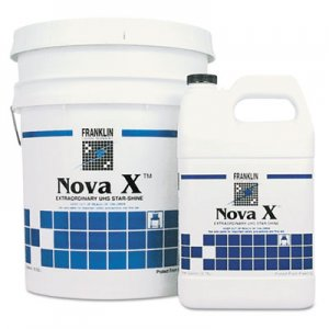 Franklin Cleaning Technology Nova X Extraordinary UHS Star-Shine Floor Finish, Liquid, 1 gal. Bottle FKLF465222 F465222