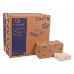 Tork Advanced Soft Masterfold Dispenser Napkins, 1-Ply,12x17,Bag-Pack, White, 6000/Ct TRKD802A D802A