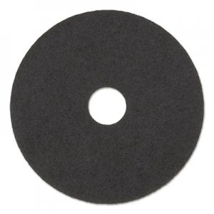 "Boardwalk High Performance Stripping Floor Pads, 19"" Diameter, Grayish Black, 5/Carton BWK4019HIP"