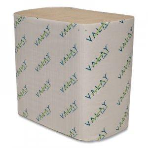 Morcon Tissue Valay Interfolded Napkins, 2-Ply, 6.5 x 8.25, Kraft, 6,000/Carton MOR5000VN 5000VN