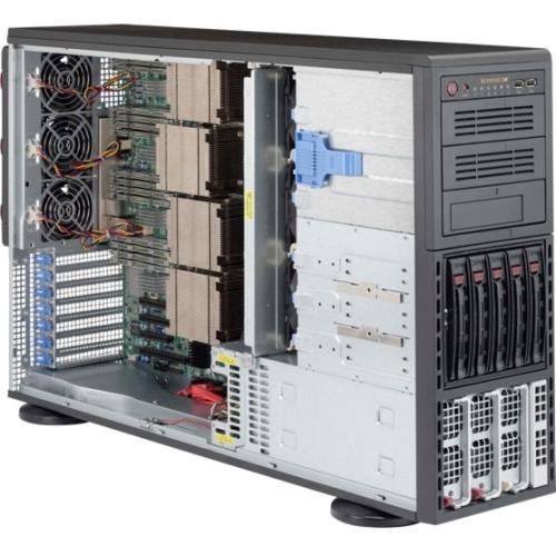 Supermicro SuperServer (Black) SYS-8048B-TR3F 8048B-TR3F