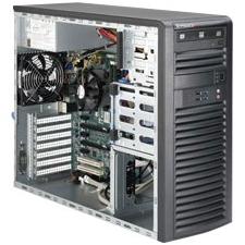 Supermicro SuperWorkstation (Black) SYS-5039A-IL 5039A-IL