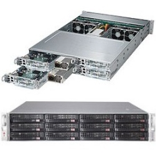 Supermicro SuperServer (Black) SYS-6027PR-HC1R 6027PR-HC1R