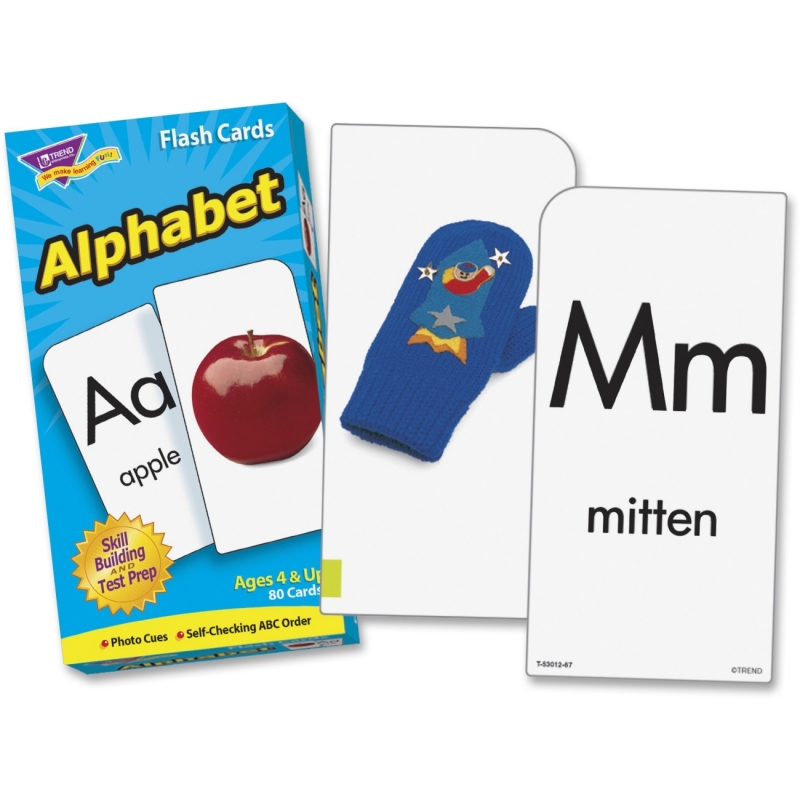 Trend Alphabet Flash Cards 53012 TEP53012