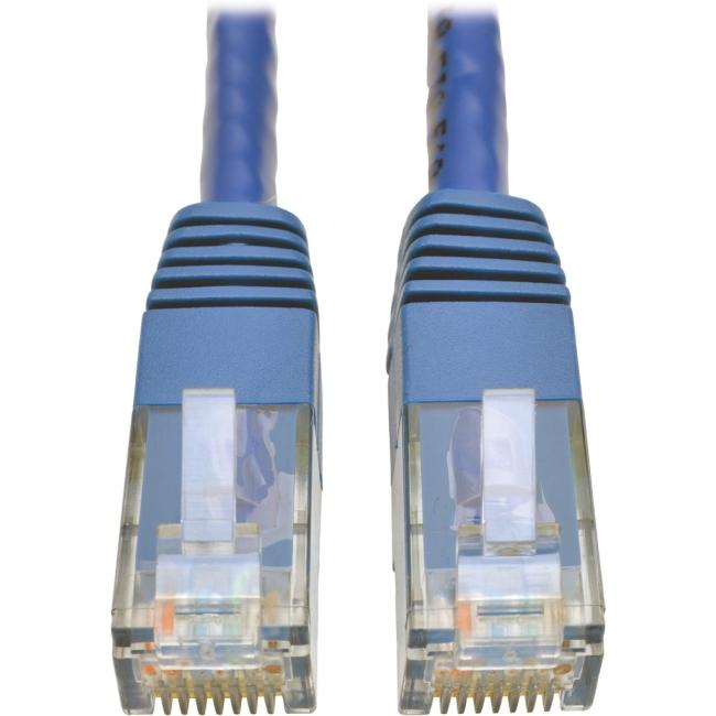 Tripp Lite Cat6 Gigabit Molded Patch Cable (RJ45 M/M), Blue, 25 ft N200-025-BL