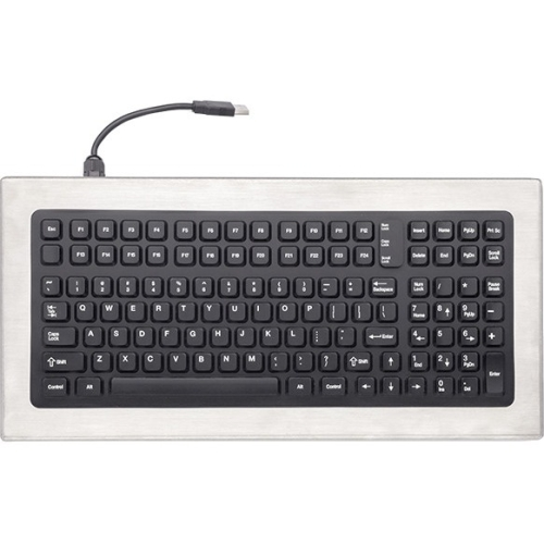 iKey DT-1000 Stainless Steel Keyboard DT-1000-PS2