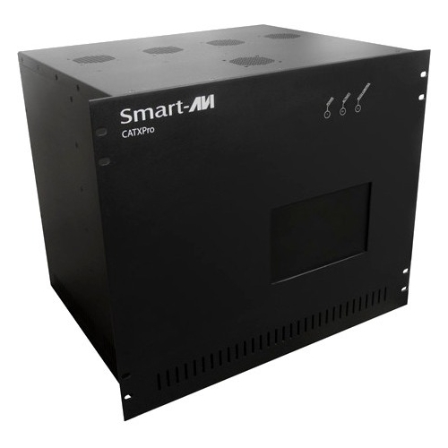 SmartAVI CAT5 Audio/Video and IR/RS232 16 IN X 16 OUT Matrix with RS-232 Control CSWX16X16S