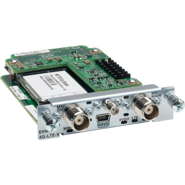 Cisco 4G LTE WWAN EHWIC for Cisco ISR G2 EHWIC-4G-LTE-VZ