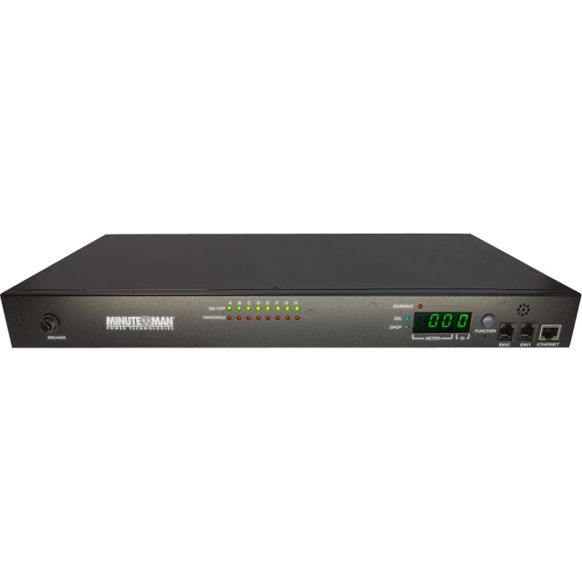 Minuteman IP-Based Switched PDU 8-Outlet 15A IPv6 RPM1581EV6