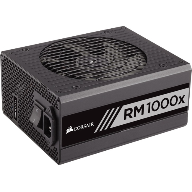 Corsair RMx Series - 1000 Watt 80 PLUS Gold Certified Fully Modular PSU CP-9020094-NA RM1000x