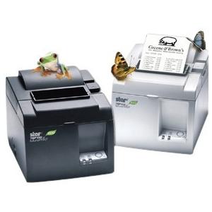 Star Micronics Receipt Printe 39464710 TSP143IIIW GRY US