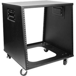 Claytek 10U 500mm Depth Sloping Media Rack WZ-1050