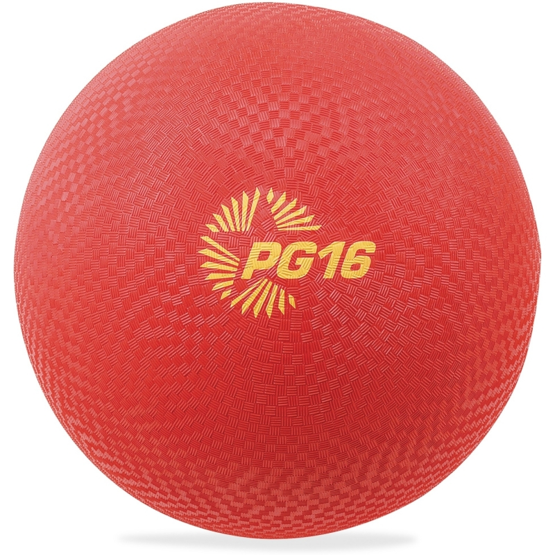 "Champion Sport Playground Ball, 16"", Red PG16RD CSIPG16RD"