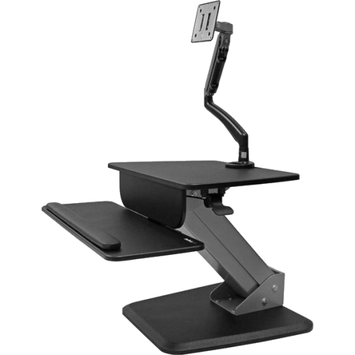 StarTech.com Sit-to-stand Workstation with Articulating Monitor Arm BNDSTSSLIM