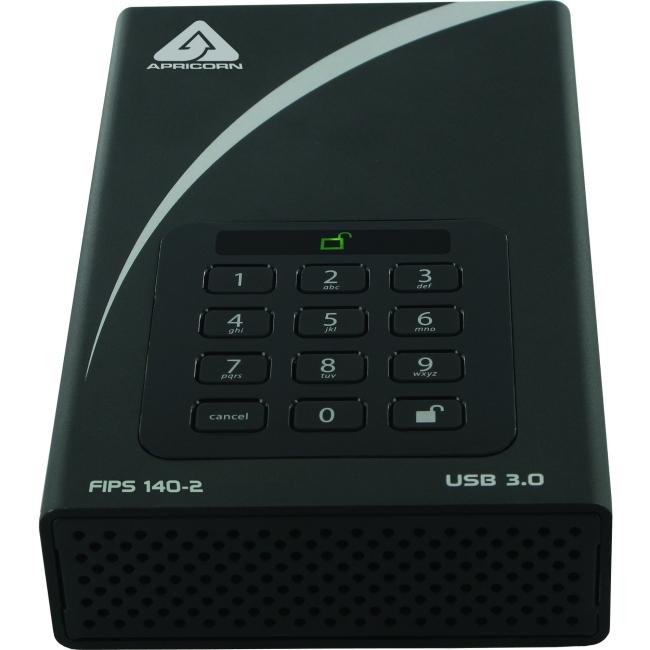 Apricorn Aegis Padlock DT FIPS - USB 3.0 Desktop Drive ADT-3PL256F-8000