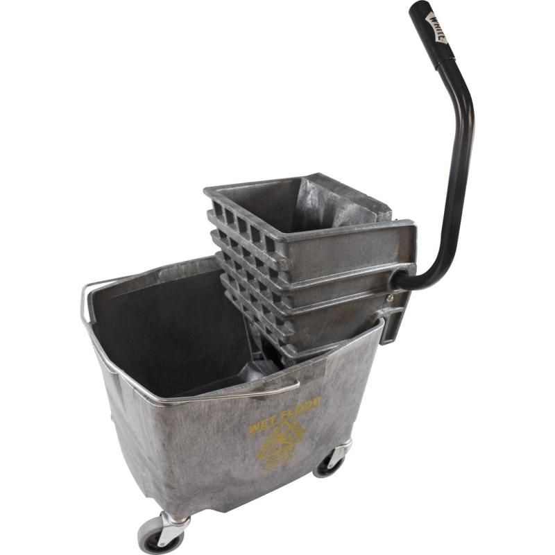 Impact Products Item # , Plastic Sidepress Squeeze Wringer/Plastic Bucket Combo 6G/2635-3G IMP6G26353G
