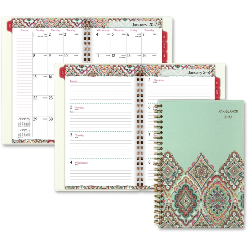 At-A-Glance Marrakesh Weekly Monthly Planner 182200 AAG182200