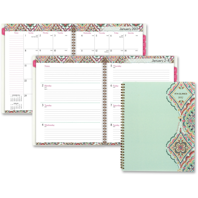 At-A-Glance Marrakesh Weekly Monthly Planner 182905 AAG182905