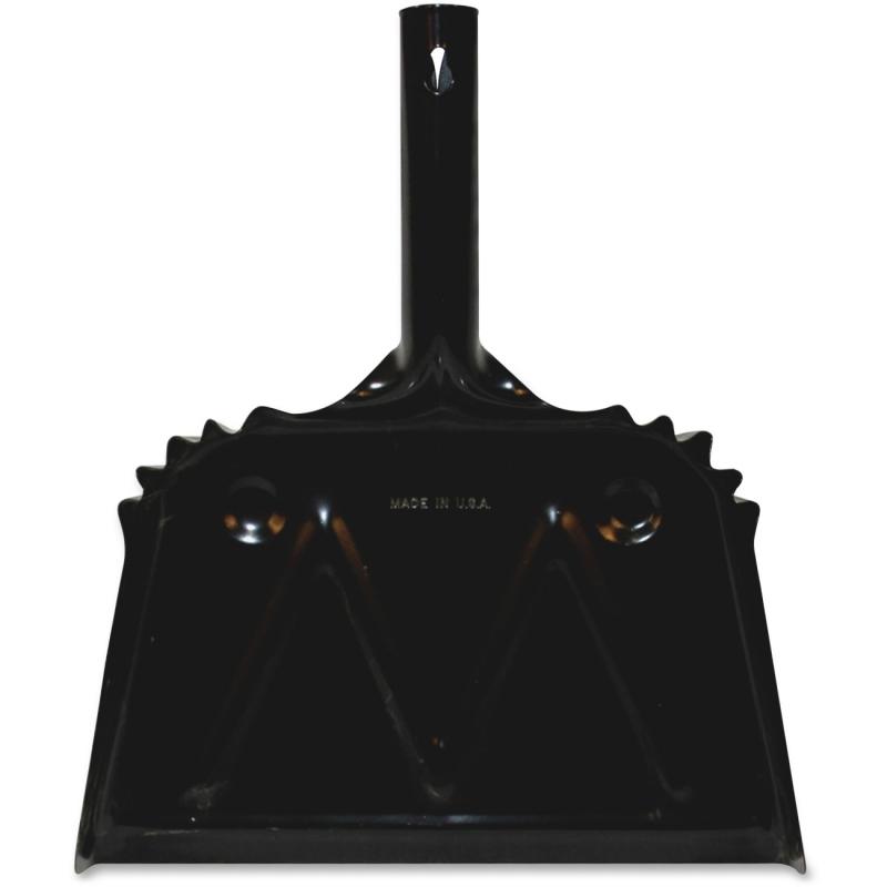 Genuine Joe Heavy-Duty Metal Dustpan 58143CT GJO58143CT