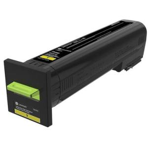 Lexmark CS820 Yellow Extra High Yield Return Program Toner Cartridge 72K1XY0