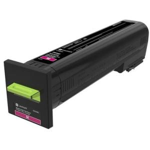 Lexmark CX82x, CX860 Magenta High Yield Return Program Toner Cartridge 82K1HM0