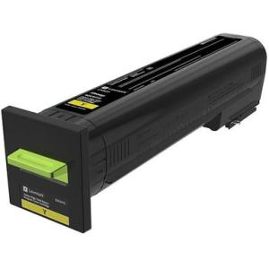 Lexmark CX82x, CX860 Yellow High Yield Return Program Toner Cartridge 82K1HY0