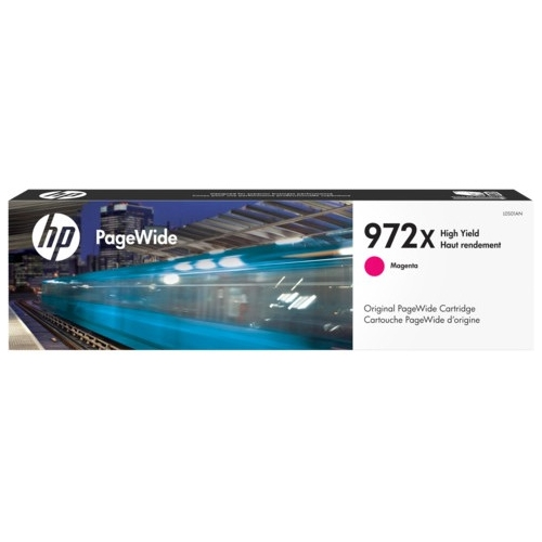 HP High Yield Magenta Original PageWide Cartridge L0S01AN 972X
