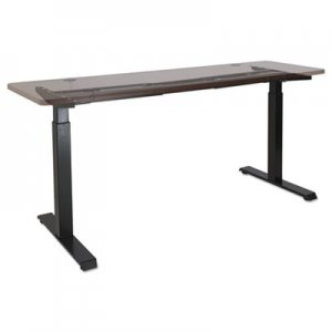 "Alera 2-Stage Electric Adjustable Table Base, 27 1/4"" to 47 1/4"" High, Black ALEHT2SSB"